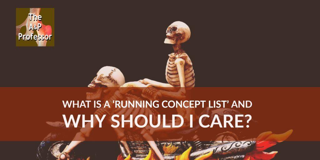 Running Concept Lists