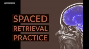 spaced retrieval practice