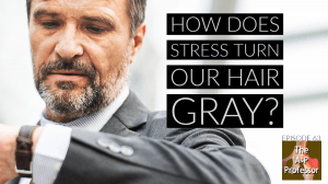 stress causes gray hair