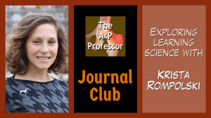 TAPP Journal Club with Krista Rompolksi