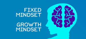 fixed mindset, growth mindset