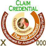 Claim Credential on badge sample