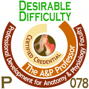 TAPP Badge P 078 Desirable Difficulty