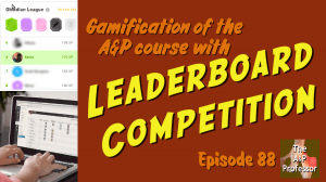 Leaderboard competition showing Duolingo and Canvas leaderboards