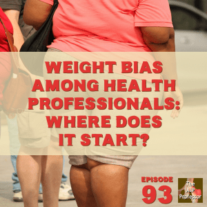 """photo of fat people and """"weight bias among health professionals: where does it start?"""""""