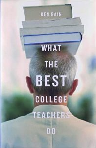 book cover: what the best college teachers do by Ken Bain